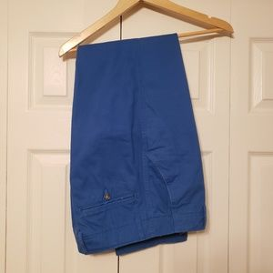 Merona Tailored Fit Chinos Royal Blue